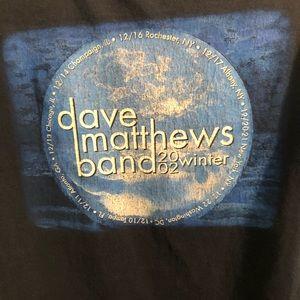 DAVE MATTHEWS BAND 2002 WINTER TOUR NAVY BLUE